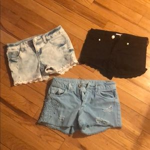 Other - Lot of Pre-owned girls shorts